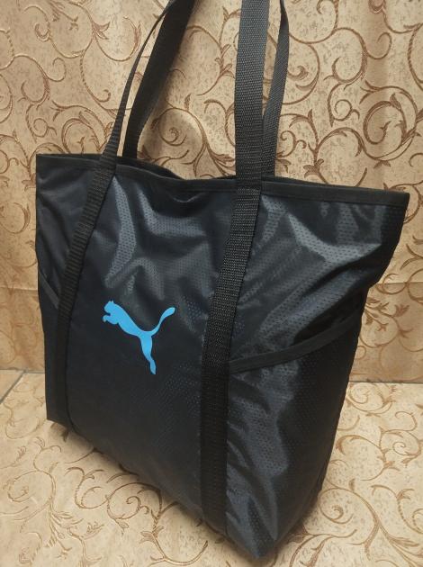 cc99ec98b7f6 Спортивная сумка женская черная, пляжная сумка, спортивная сумка Puma  копия, ...