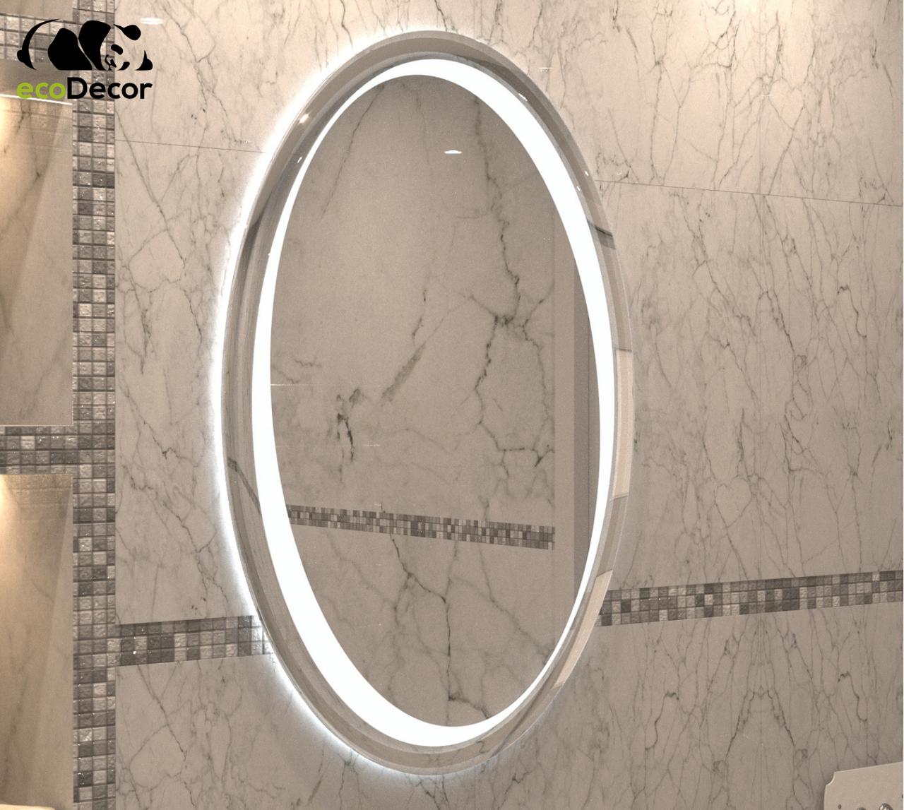 Зеркало с LED подсветкой Bazas в ванную