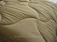 Пуховое одеяло двуспальное евро 200х210 (иск.лебяжий пух/хлопок) (3273) KRISPOL