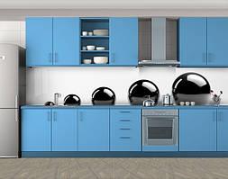 Кухонный фартук Черные сферы шары, Стеновая панель с фотопечатью, Разное, белый