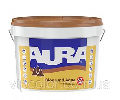 Aura Biogrund Aqua 9 л Антисептическая грунтовка для древесины