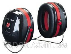 3M™ PELTOR™ Optime™ III H540B-412-SV Противошумовые наушники с затылочным (горизонтальным) оголовьем