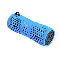 Портативная акустическая влагозащитная Bluetooth колонка бумбокс WEEKENDER B30 BLUE 6Вт