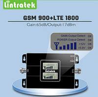 850+1800MHz Усилитель мобильной связи, Репитер KW17L-CD CDMA+DCS 4G 65dB, фото 1