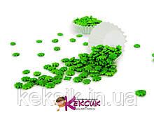 Посипка - Маргаритки зелені 50 гр