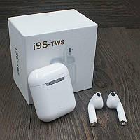 Бездротові Bluetooth-навушники I9S TWS Bluetooth V5.0 з кейсом і чохлом Білий