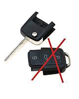 Автомобильный выкидной ключ (корпус) для Volkswagen (верхняя часть)