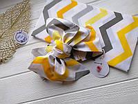 Подарочный набор Афробант с пеленкой, желтый