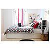 Каркас кровати IKEA BRIMNES 180x200 см белый  190.991.57, фото 5