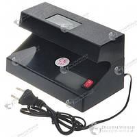 Ультрафиолетовая лампа для проверки денежных купюр с окошком обзора и увеличителем (220 Вольт)