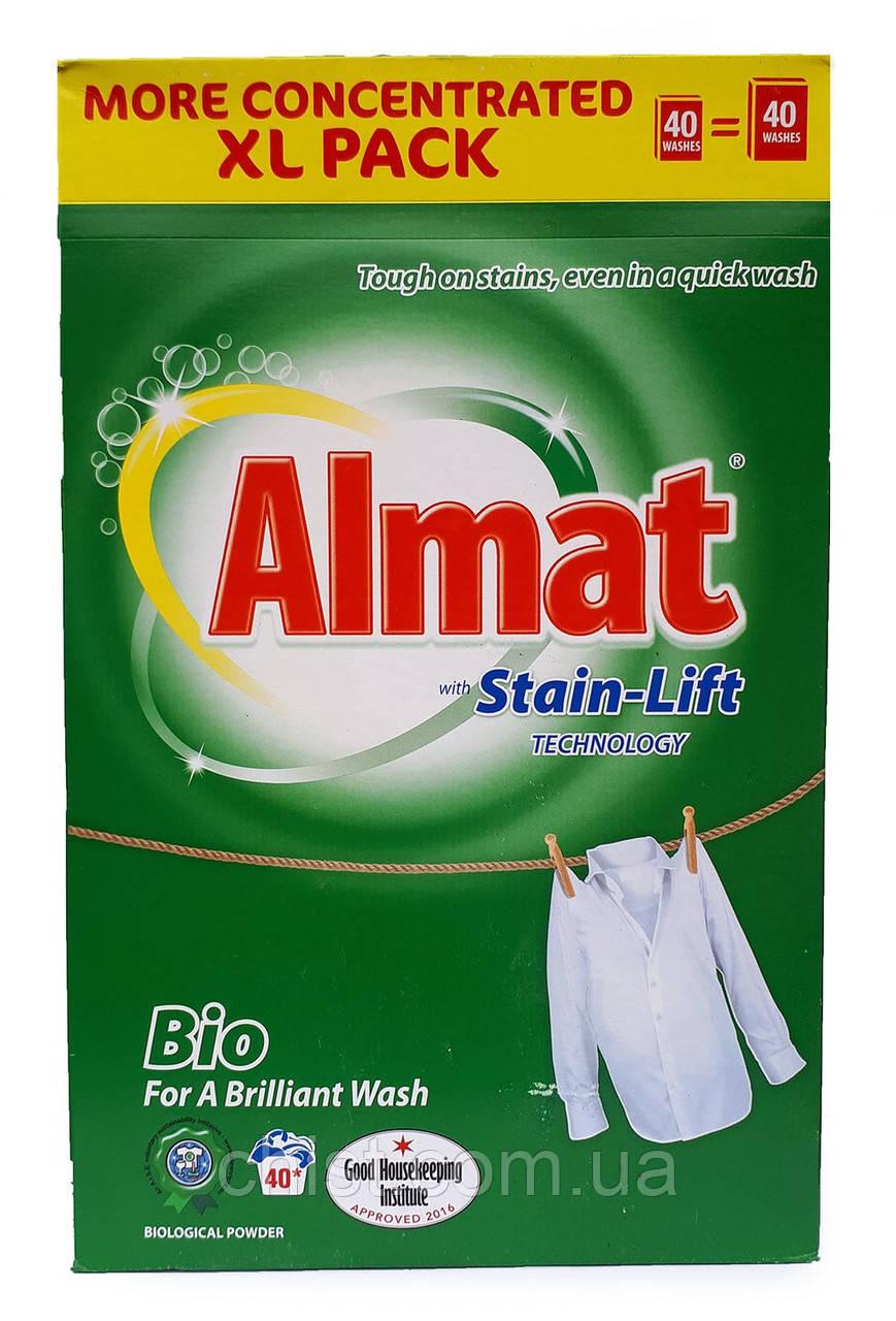 Almat порошок для белых вещей BIO (2.6 кг-40 ст)