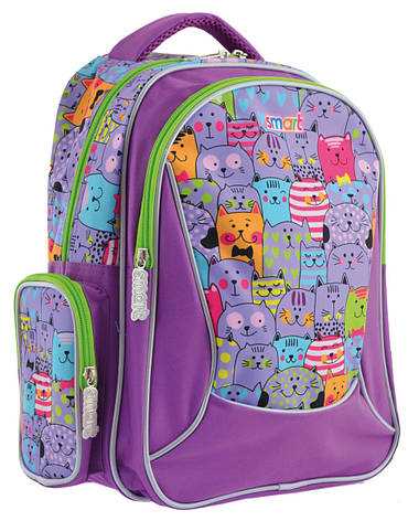 Рюкзак школьный SMART 556811 ZZ-02 Kotomania, фото 2