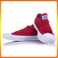 Кеды Converse Style All Star 2 Chuck Tailor Mono Красные. Тотальная распродажа