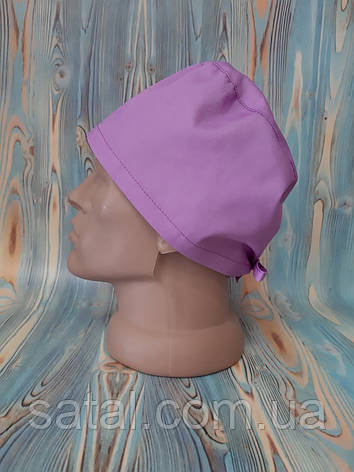 Медицинская шапочка. Лаванда. Сатал, фото 2