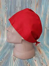 Медицинская шапочка. Красный (66). Сатал