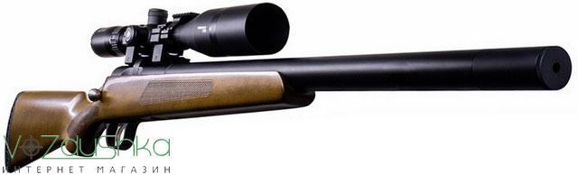 пневматическая винтовка с предварительной накачкой (pcp винтовка) artemis M30 с установленным прицелом