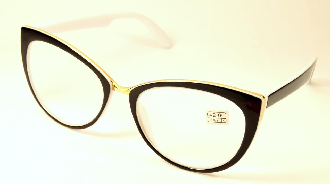 Женские изысканные очки (МС 2115/314 ч-б)