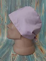 Медицинская шапочка. Розовый жемчуг (67). Сатал