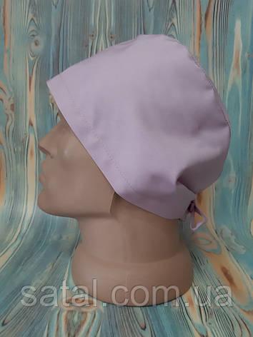 Медицинская шапочка. Розовый жемчуг (67). Сатал, фото 2
