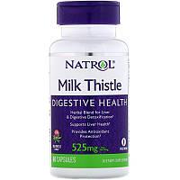 Расторопша, Natrol, 525 мг (60 капсул)