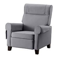 Кресло-лежанка IKEA MUREN Nordvalla серый 702.990.25