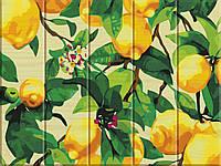 "Картина по номерам на дереве ""Лимонное дерево"" 30*40 см, фото 1"