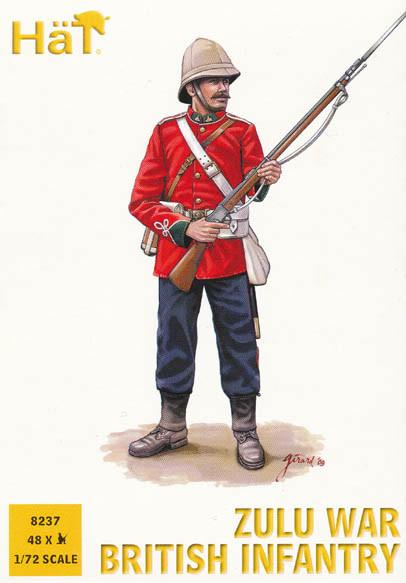 Zulu War British Infantry. 1/72 HAT 8237