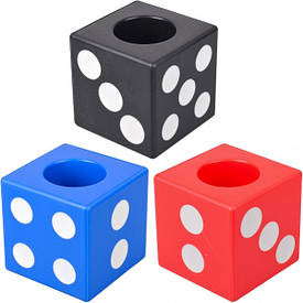 Стакан для ручек пластиковый 302 7,5×7,5×7,5 см   302