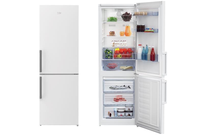 Холодильник двокамерний Beko RCNA320K21W - 185x60/No Frost/320 л/А+/білий