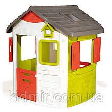 Садовий будиночок дитячий ігровий зі ставнями Нео Neo Jura Smoby 810500