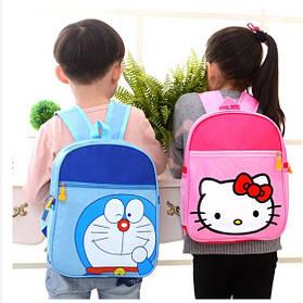Нейлонові дитячі рюкзаки з принтом Hello Kitty і Кіт