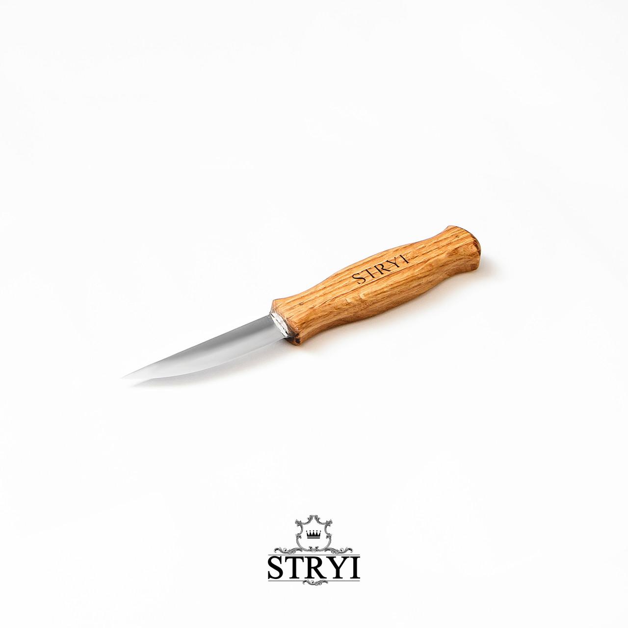 Стамеска нож скульптурный для резьбы по дереву от производителя, 80 мм