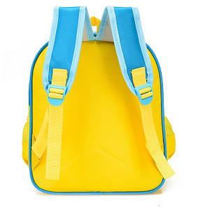 Нейлоновые детские рюкзаки с принтом Автобус, фото 2