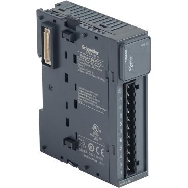Модуль розширення TM3 - 2 AQ (2 аналогових виходу) для контролерів Modicon M221/ M241 TM3AQ2