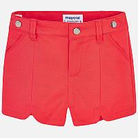 Персиковые шорты для девочки 3213-55, Размер одежды 3/98см