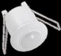 Датчик движения ДД-301 800Вт 360град 6м IP20 белый IEK