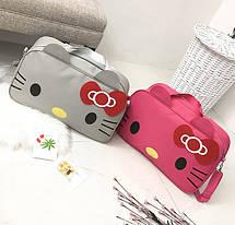 Большая спортивная сумка Hello Kitty для стильных девушек, фото 3