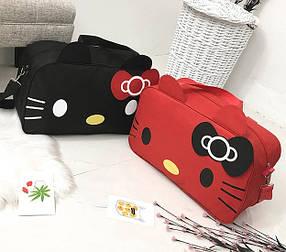 Большая спортивная сумка Hello Kitty для стильных девушек