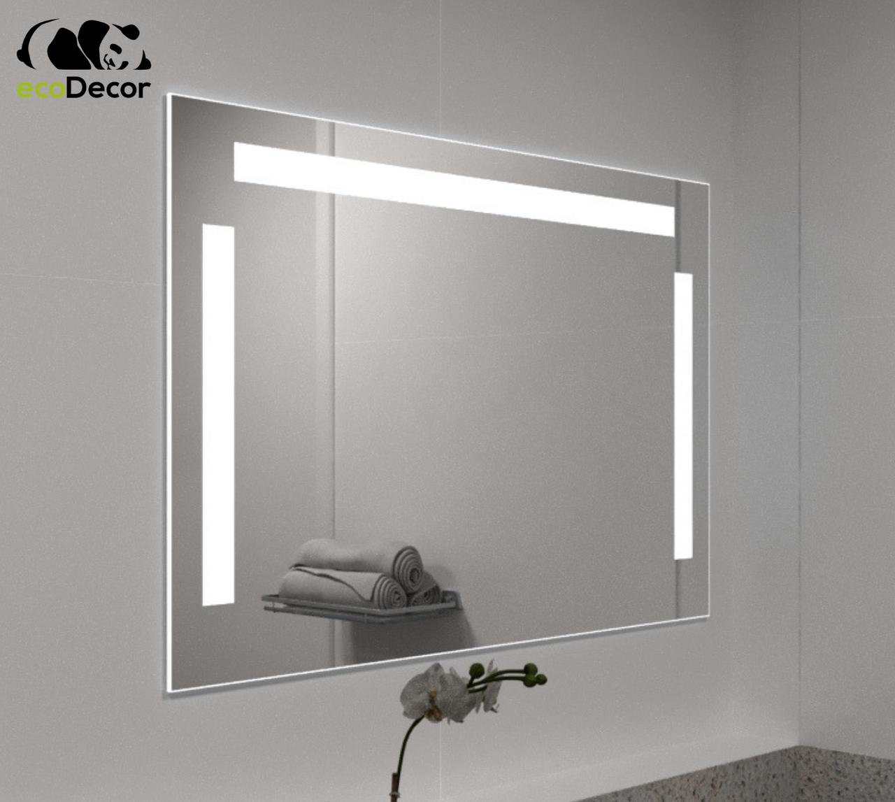 Зеркало с LED подсветкой Prix в ванную