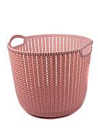 Корзина для хранения вещей Yimei 32х30,4х26,5см Розовый