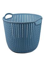 Корзина для хранения вещей Yimei 32х30,4х26,5см Голубой