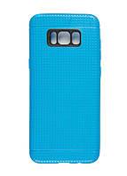 Чехол на Samsung S8+ WAVE 16х7,5см Голубой