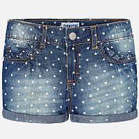 Джинсовые шорты для девочки 3204-5, Размер одежды 5/110см