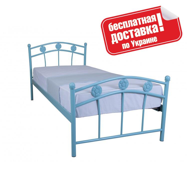 Кровать металлическая 90х200 см Чемпион Melbi