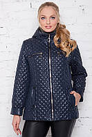 Модная женская демисезонная куртка в 3х цветах МЕЛИССА размеры 50-60, фото 1