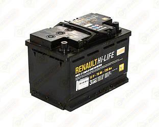 Аккумулятор АКБ L3 70AH на Renault Scenic III 2009->2016— Renault (Оригинал) - 7711575175