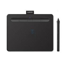 Графический планшет Wacom Intuos S Bluetooth Black (CTL-4100WLK-N)