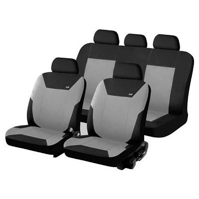 h&r hadar rosen Чехлы для автомобильных сидений Hadar Rosen CORSAR, Черный/Светло-серый 10346 2380