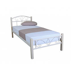 Ліжко металеве 90х200 см Лара Люкс Вуд Melbi