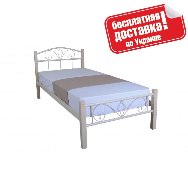 Кровать металлическая 90х200 см Лара Люкс Вуд Melbi